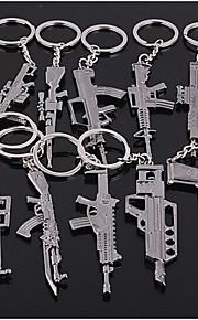 kanoner forme nøglering tilfældig typen 60 * 40 * 5mm
