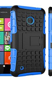 2 in 1 Dual-color Detachable PC+TPU Hybrid Case with Kickstand For Nokia Lumia 530 (Assorted Colors)