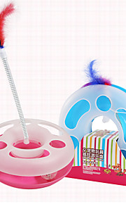 Circular Amusement Plate  Kitty Toy