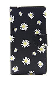 애플 아이폰 7 7 플러스 아이폰 6s 6 플러스 아이폰 5s 5c 5 케이스 커버 작은 흰색 꽃 패턴 pu 가죽 케이스