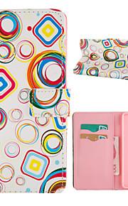 conception spéciale nouveauté cas folio cuir PU dessin couleur ou un motif étui pour Samsung Galaxy a7