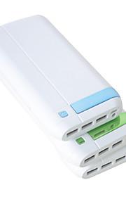 16000mAh Mutil USB Output High Capacity Power Bank F8