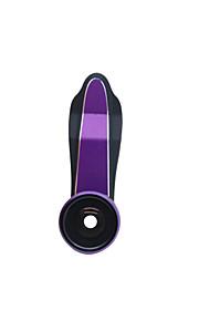 Smartphone camera lens clip 198 degree super fisheye lens 0.63x wide angle 15x macro lens 15x macro 3in1 lens kit