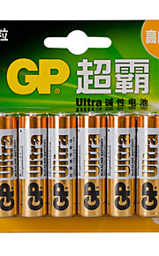 LR6 GP Batteries 1.5v aa domestiche 12pcs