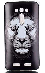 løve mønster TPU telefon tilfældet for zenfone 2 laser ze550kl