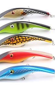 Mizugiwa Fishing Jerkbait Musky Pike Bass Lure Bait 140mm 34g 3D Eyes pack of 5