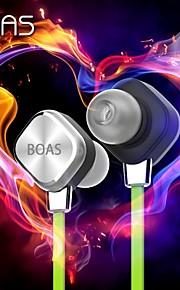 nieuwe komen Boas lc-999 mode draadloze bluetooth 4.1 stereo-oortelefoon sport hoofdtelefoon studio muziek hoofdtelefoon met microfoon