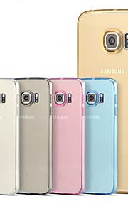 Per Samsung Galaxy S7 Edge Transparente Custodia Custodia posteriore Custodia Tinta unita TPU per SamsungS7 edge plus / S7 edge / S7 / S6