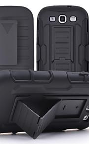 clip da cintura + fondina distinguono 3 in 1 caso pesanti futuro armatura per la galassia S3 / S4 / S5 / S6 / S6 bordo / bordo S6 + / S7