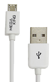 Taiwan MEGAKING USB Android Phones Charging Cable  1 Meter