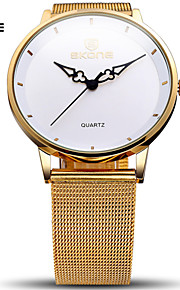 Dames Modieus horloge Kwarts Waterbestendig / Sporthorloge Legering Band Polshorloge / armband Zilver / Goud / Goud Rose