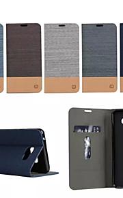 Per Samsung Galaxy Custodia Porta-carte di credito / Con supporto / Con chiusura magnetica / A calamita Custodia Integrale CustodiaTinta