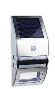 hry® 2leds hvit farge soldrevne ledet PIR bevegelse sensor utendørs bane vegglampe hage sikkerhet lampe