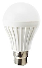 1 stk. BA15d 7W 10 SMD 5730 500 lm Varm hvit T LED-globepærer AC 220-240 V