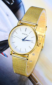 Dames Modieus horloge Kwarts Legering Band Polshorloge Zilver / Goud