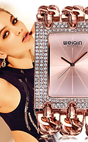 WEIQIN® Women's Luxury Gold Bracelet Watches Ladies Fashion Rhinestone Dress Watches Relogio Feminino Party Jewelry Cool Watches Unique Watches