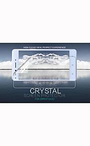 cristal nillkin película transparente anti-huella digital protector de pantalla para f1 opo (a35)