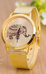 아가씨들 스포츠 시계 드레스 시계 패션 시계 손목 시계 중국어 석영 합금 밴드 참 캐쥬얼 창의적 멀티컬러 골드