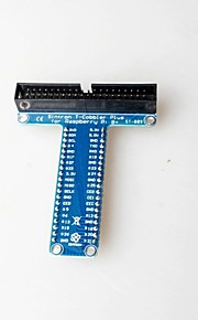 T-Raspberry Pie GPIO Expansion Board Generation Generation B B + 2 Dedicated 2 * 20p 40pin
