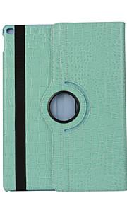 modello in pelle di caso della copertura di vibrazione dell'unità di elaborazione di 360 gradi per ipad dell'aria 2 (colori assortiti)