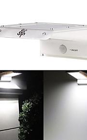 vanntett 20 ledet solenergi utendørs sikkerhet lys lampe pir motion sensor lys