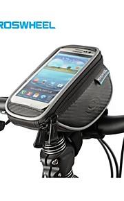 Roswheel Size L Mountain Bike Handlebar Bag Cycling Phone Case Waterproof Touch Screen Ciclismo Bolsa