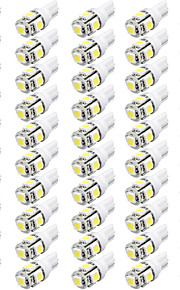 camry corolle elantra 12v 2.5w 50505smd voiture a conduit une lampe de lecture, lampe de largeur de voiture, voiture conduit 50pcs lampe