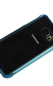 Per Samsung Galaxy Custodia Resistente agli urti / Transparente Custodia Custodia posteriore Custodia Tinta unita PC Samsung S7