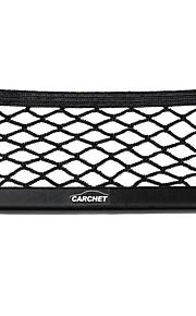 Auto Speichernetztasche Handyhalter Tasche Veranstalter schwarz 17x8cm