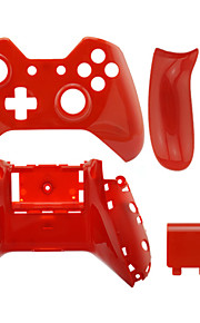 Replacement Controller Case Shell for Xbox One (Black/White/Red)