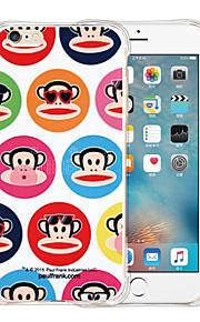 gorila caso suave de silicona transparente para el iphone 6 / 6s (colores surtidos)