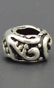 DIY beaded armbånd halskæde sølv smykker tilbehør grønne marine mønster lampwork perler hac0047