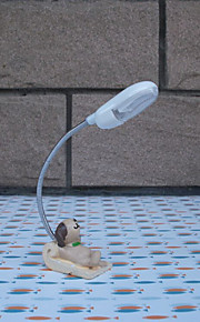 kijk naar de sterrenhemel dieren 's nachts licht LED lamp home decor hars ambachten leeslampje (willekeurige kleur)