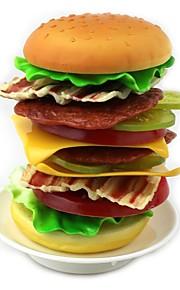 simulação empilhados brinquedo hamburger