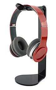 popularne akrylowy stojak materiał do słuchawek tranparent (losowe kolory)