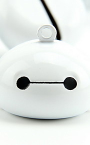 Baymax Cartoon Pure Copper Pet Pendant Bell(1 PCS 3cm)