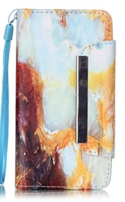 специально разработан большой покрытие 3 карточки бумажника случай всего тела для LG h340n