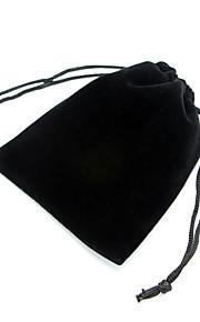 Smykketasker Stof 3stk Sort