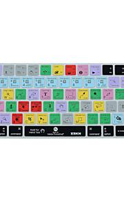 XSKN Adobe Photoshop cc kortkommandot täcka silikonhölje för magiska tangentbord 2015 version, oss layout