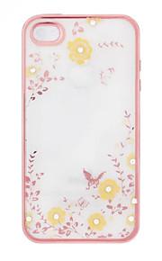 geheime tuin bloem vlinder diamanten zachte TPU dekking voor Samsung note3 / note4 / note5 case