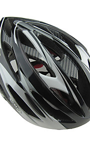 Capacete(Vermelho / Cinzento / Preto / Azul,PVC) -Montanha / Estrada / Esportes-Unisexo 24 AberturasCiclismo / Ciclismo de Montanha /