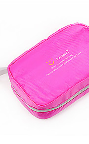 Travel Toiletry Bag / Inflated Mat Waterproof / Portable Travel Storage Fabric Blue / Green / Pink