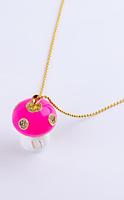 16GB Necklace Mushroom Jewelry USB 2.0 Rotatable Flash Memory Stick Drive U Disk ZP-17