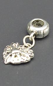 DIY beaded halskæde armbånd øreringe tilbehør med sølv ornamenter hac0064 heiye miljømæssig ark beskyttelse