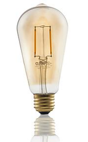 1 stk. GMY E26 2W 2 COB ≥180 lm Varm hvit ST21 edison Vintage LED-glødepærer AC 110-130 V