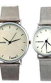 Correia dos homens relógios de moda feminina relógios casal relógio de quartzo relógios de pulso montre femme