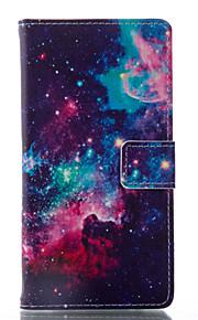 Per Samsung Galaxy Custodia Porta-carte di credito / Con supporto / Con chiusura magnetica / Fantasia/disegno / A calamita Custodia