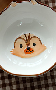 1PC 12*5CM 5 Inches Of Pure Hand-Painted Bowl