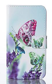 farfalla cassa del telefono dell'unità di elaborazione del dipinto per Galaxy S5 / S6 / s6edge