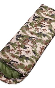3 Season Camouflage Single Person Envelope Sleeping Bag with Carrying Bag